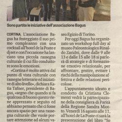 La rassegna culturale dell'associazione Bagus Oggi al museo Zardini