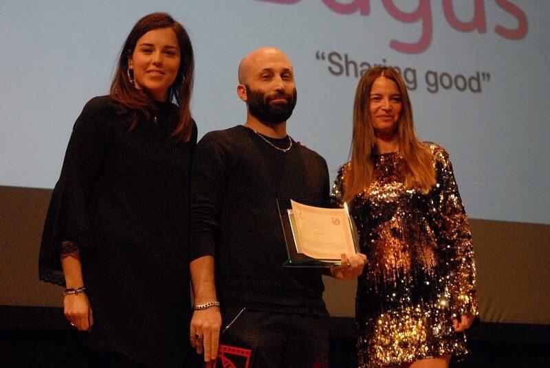 Premiazione_cortinametraggio_sharinggood_premio_speciale_bagus